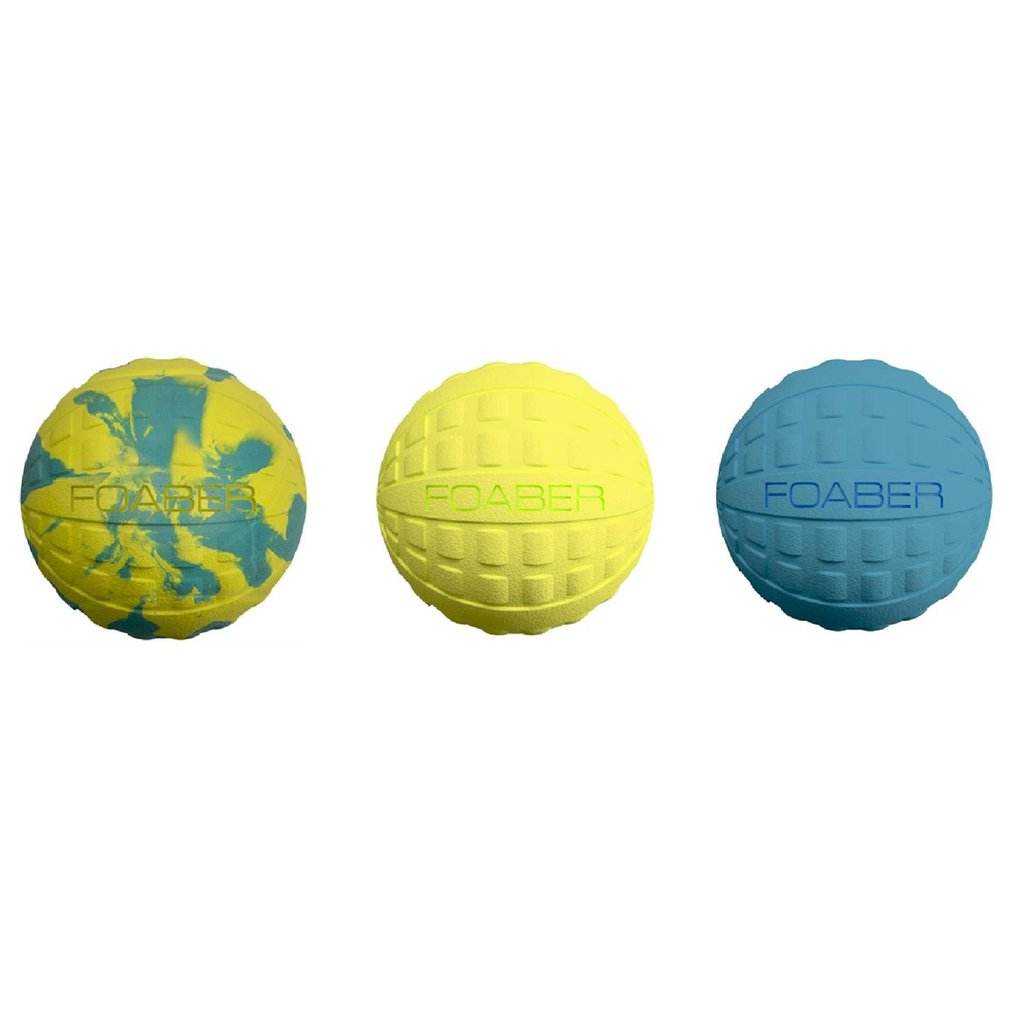 Foaber Foam Rubber Bounce Ball for Dogs - Barks and Licks
