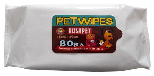 HushPet Pet Wipes - Barks and Licks