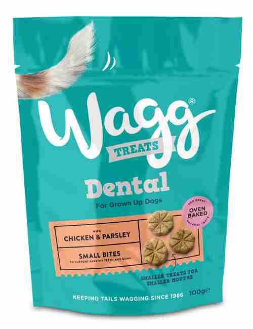 Wagg Dental Bites CHICKEN & PARSLEY Small