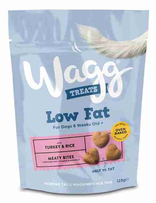 Wagg Low Fat Treats TURKEY & RICE
