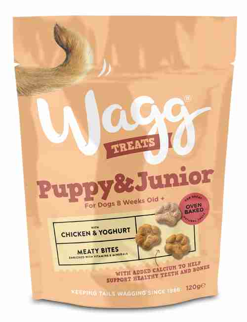 Wagg Puppy & Junior Treats CHICKEN & YOGHURT