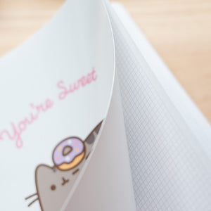 Pusheen You're Sweet Notebook Polypropylene Cover A4 4X4 Rose Collection