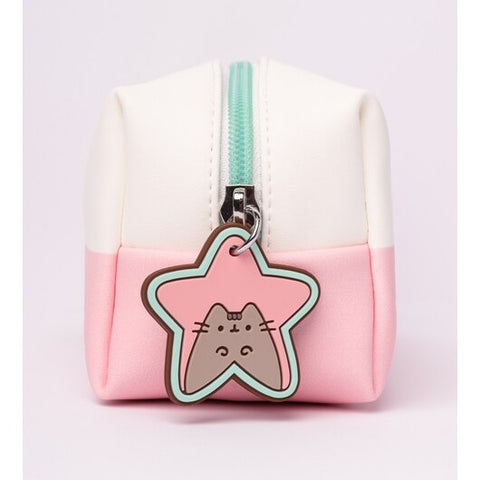 Image of Pusheen Vanity Cosmetic Pouch Case – Pusheen Rose Collection 2020 – 19x9x7cm
