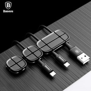Baseus Cross Peas Cable Clip Baseus Cable Clip 3-Pack Desktop Cord Holder Hider Charging Cable