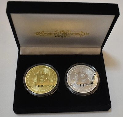 Black 2 Piece Coins Gift Box (Without Coin)