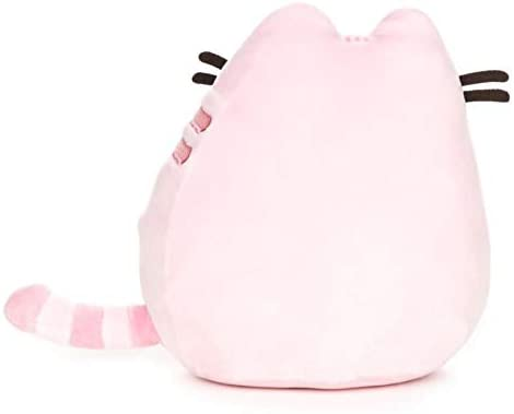 Image of Pusheen Sitting Pet Pose in Pastel Pink Plush, 6-inches