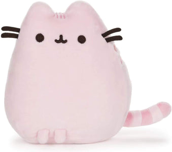 Pusheen Sitting Pet Pose in Pastel Pink Plush, 6-inches