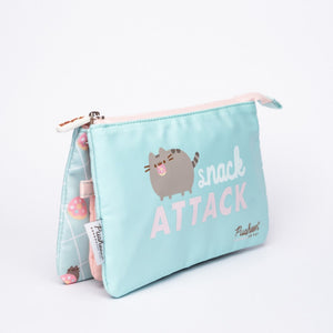 Pusheen Pencil Case Triple – Pusheen Foodie Collection 2020 – Snack Attack – 21.5x12x3.5cm