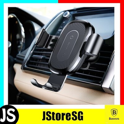 Baseus Wireless Charger Gravity Car Mount black