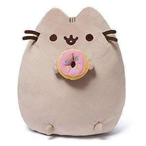 "GUND Pusheen Snackable Donut Stuffed Animal Plush, 9.5"" - JStore SG"