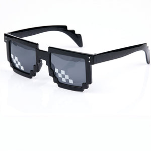 Deal With It Glasses 8 bits Mosaic Pixel Sunglasses Men Women Party Eyewear Dealwithit thug life Popular Around the World
