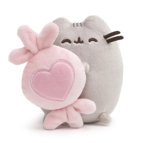 Pusheen Valentine Holding Candy,  6""