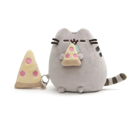 Pusheen with Pizza 6 Inches