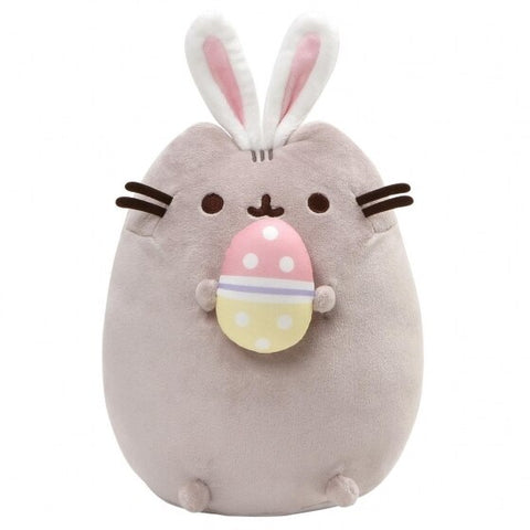 Pusheen Easter Bunny Snackable With Egg plush