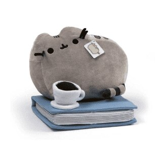 Image of Pusheen Enjoying Coffee and a Book: B&N Exclusive