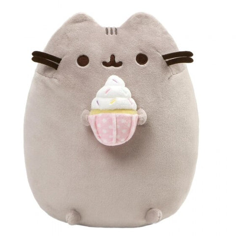 Pusheen Snackable Sprinkled Cupcake Plush