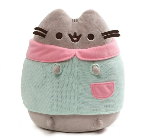 Pusheen Winter Plush with Cardigan 9 Inches