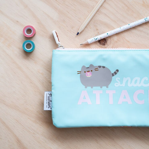 Image of Pusheen Pencil Case Triple – Pusheen Foodie Collection 2020 – Snack Attack – 21.5x12x3.5cm