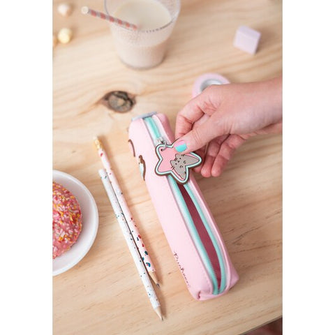 Image of Pusheen Small Pencil Case – Pusheen Rose Collection 2020 – 20x4x4cm