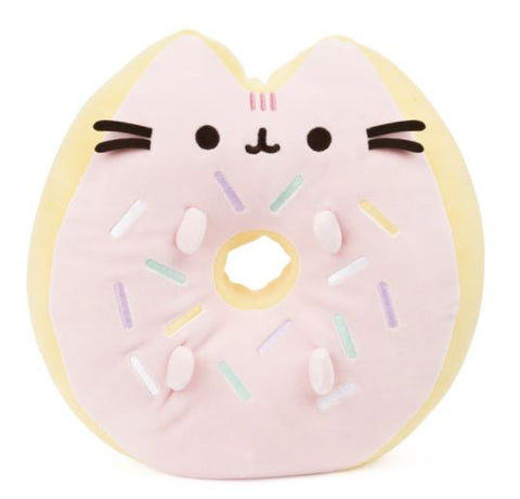 Image of Pusheen Sprinkle Donut 12 Inches Plush Cushion