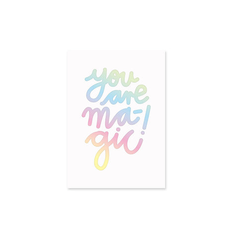 you are magic – Karte
