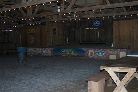 dance hall in Luckenbach