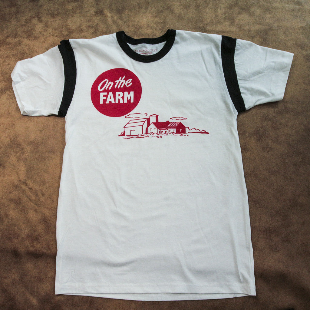 On the farm radxdesign tee