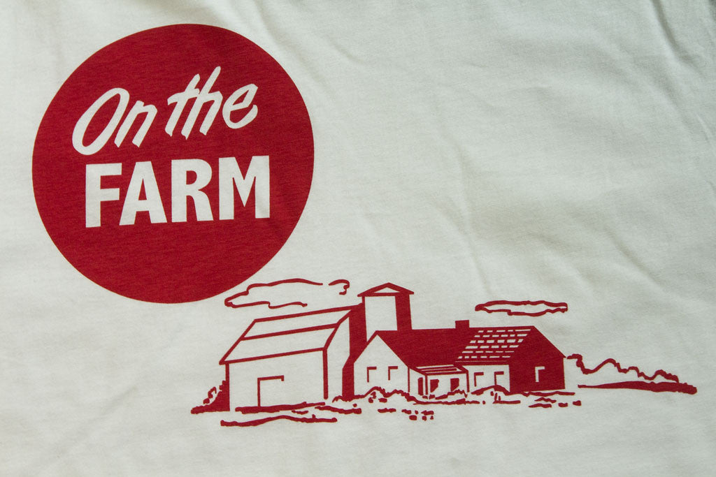 On the farm radxdesign tee graphic