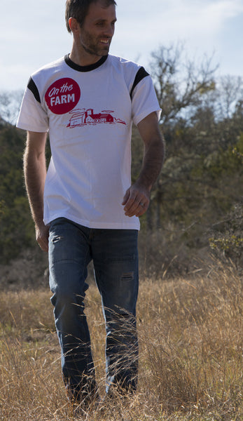 on the farm 100% jersey cotton shirt
