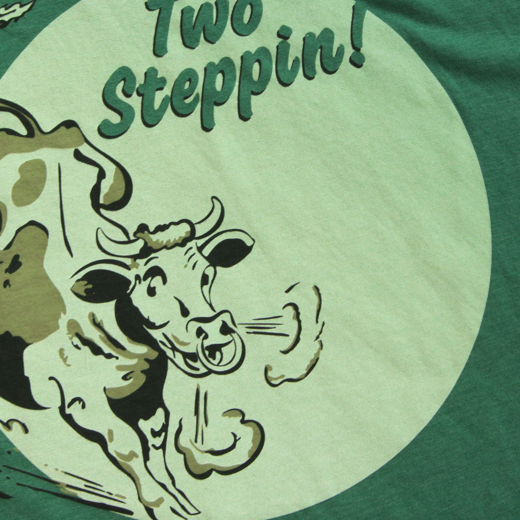Two steppin tee closeup from radxdesign
