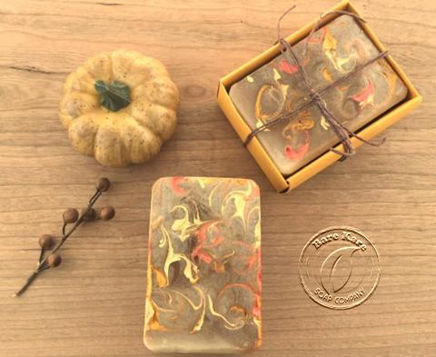 Bare Kare Soap - Green Pumpkin