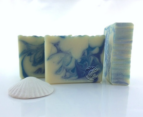 Seaberry Swirls soap