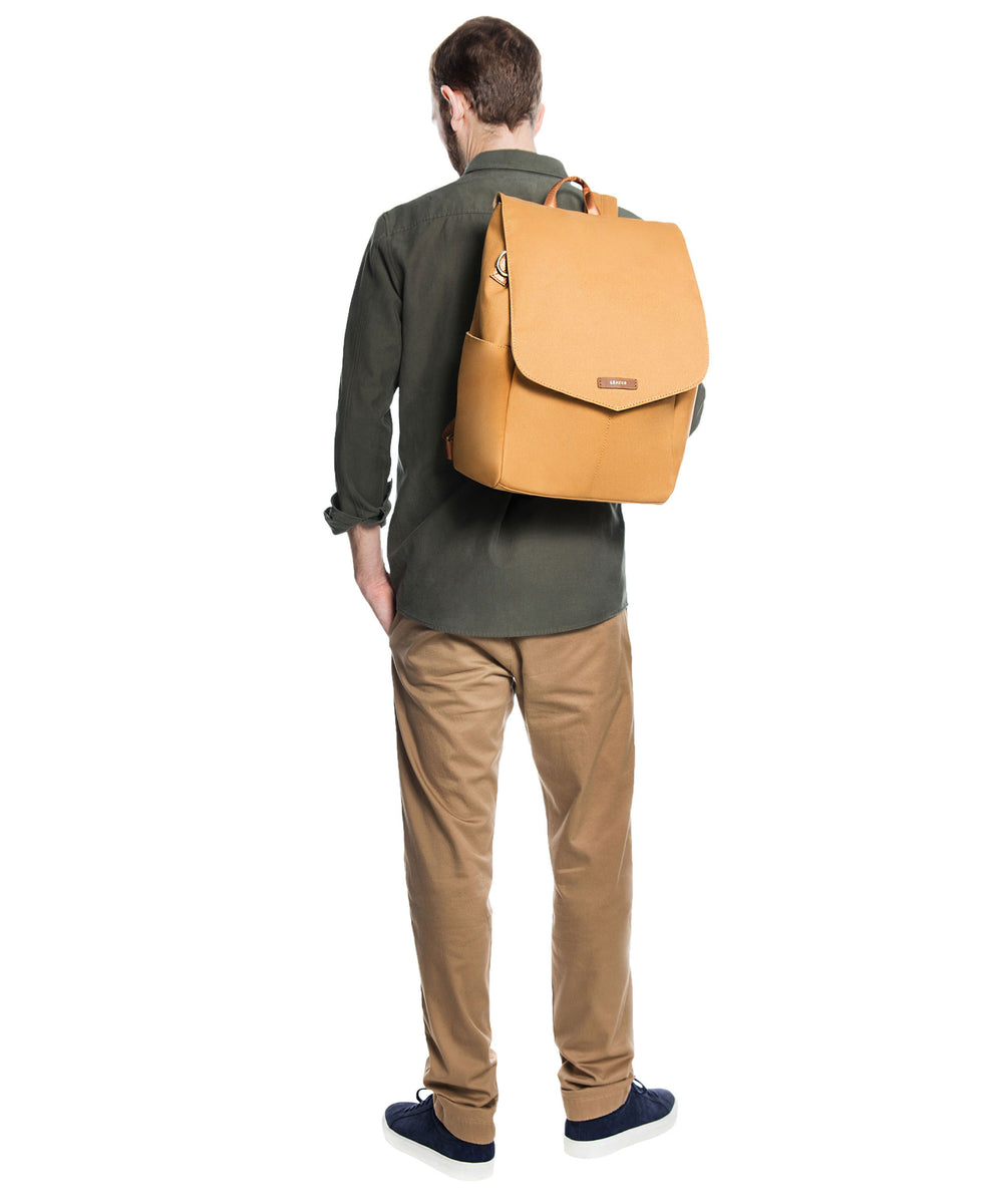 Julien Canvas Backpack Marigold