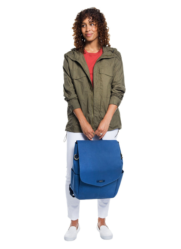 Julien Canvas Backpack Worker Blue