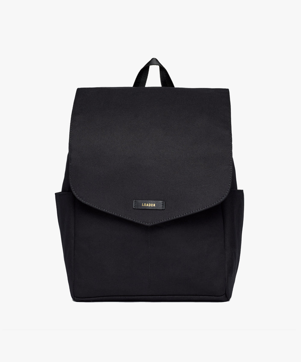 Julien Canvas Backpack Black