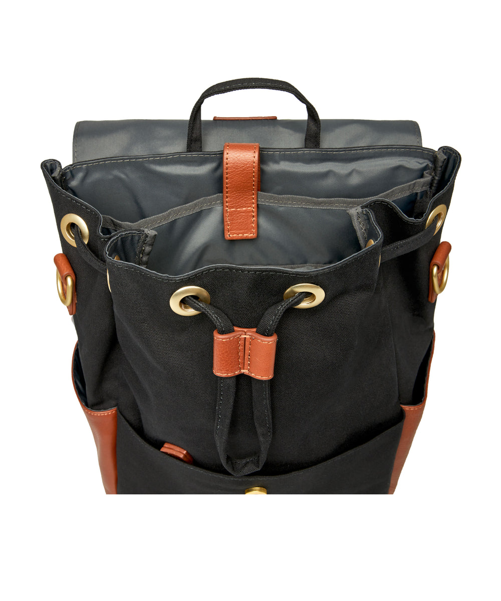 Julien Leather Set Black & Tan
