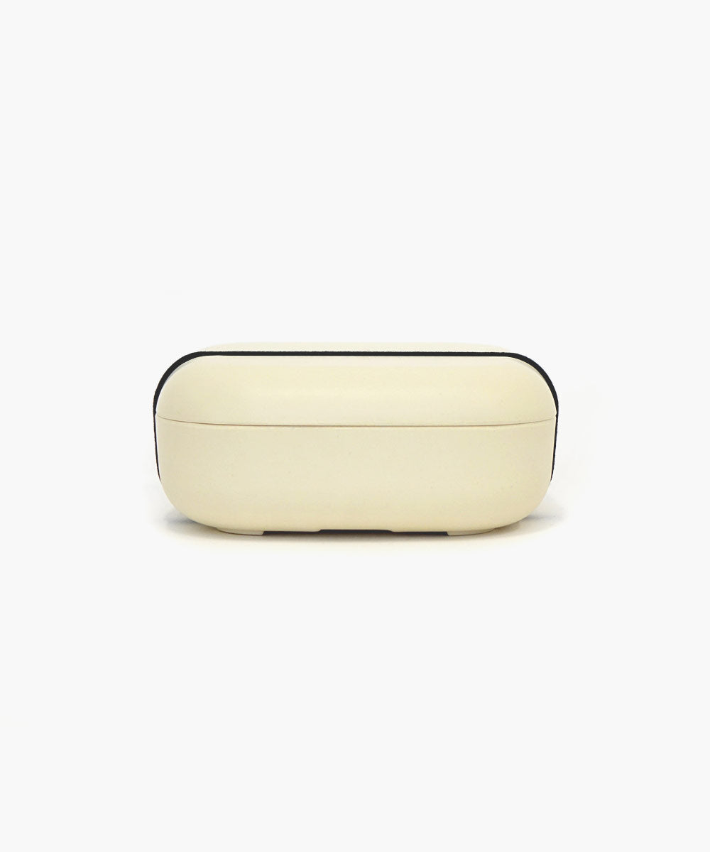 Bamboo Bento Box in White