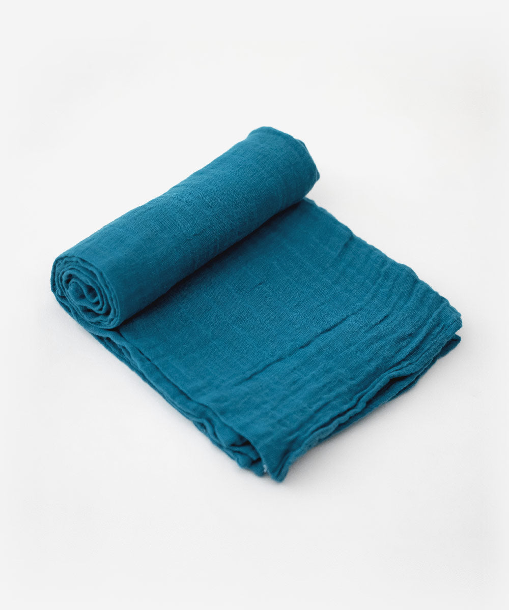 Lake Muslin Cotton Swaddle