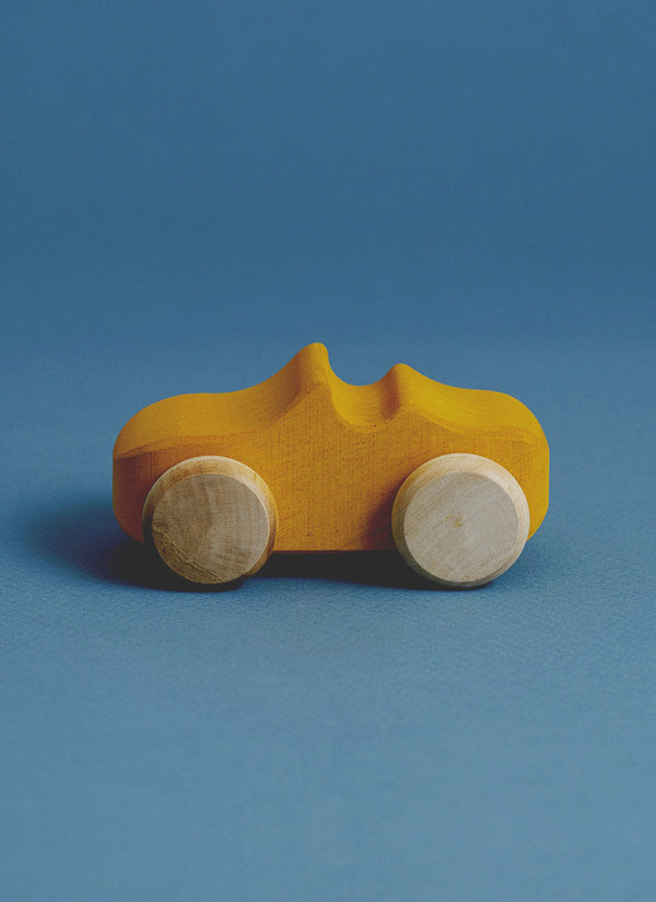 Wooden Convertible in Mustard