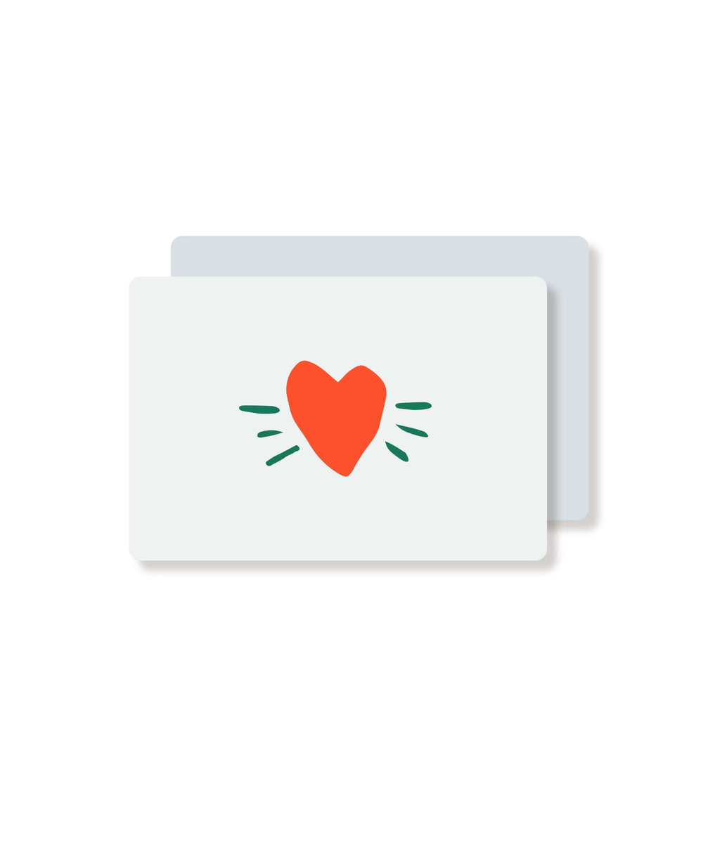 Leader Gift Card Design: Love