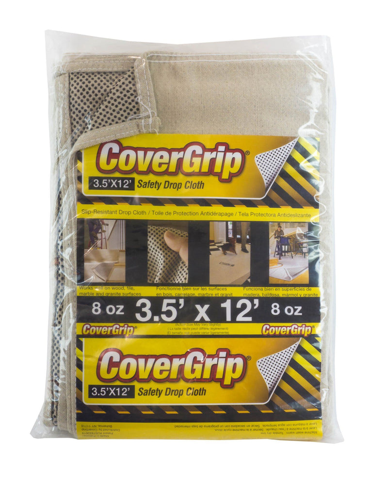 Covergrip 3.5' x 12' Safety Drop Cloth