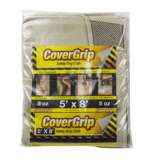Covergrip 5' x 8' Safety Drop Cloth
