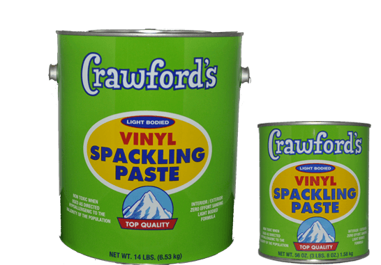 Crawfords Spackling Paste