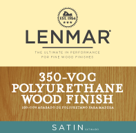 350 VOC Polyurethane Wood Floor Finish - Satin 1Y.354