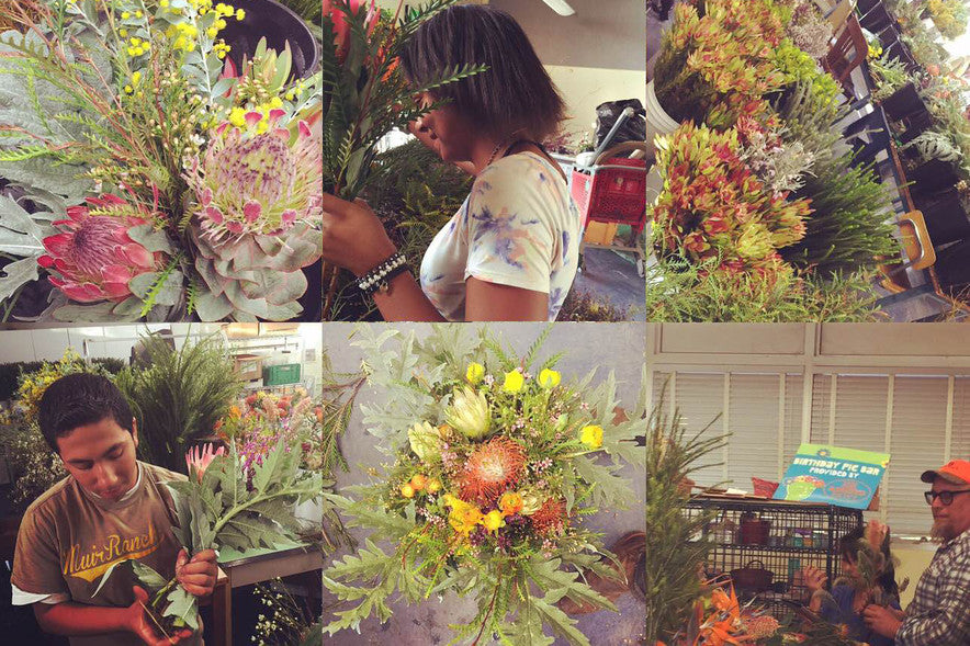 Just a taste of all that goes into creating our bouquets