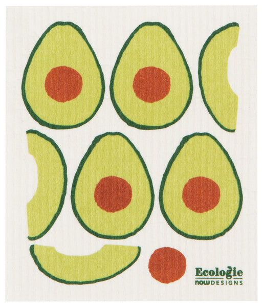 Swedish Dishcloth Avocados