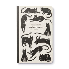 Write Now Journal There Are No Ordinary Cats - Collete