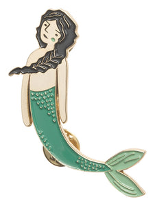 Danica Enamel Pin Sea Spell Mermaid