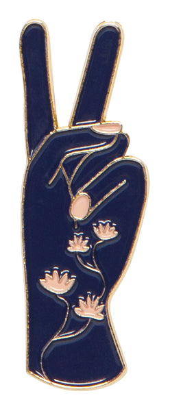 Danica Enamel Pin Show of Hands