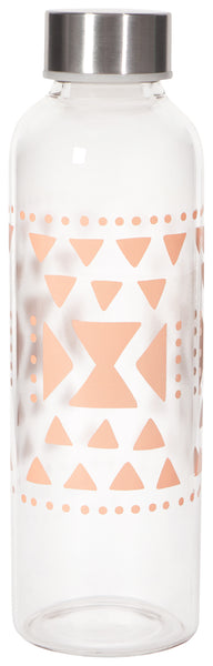 Danica Sustain Glass Water Bottle Pink